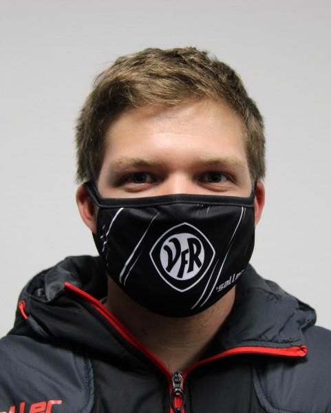 VfR-Gesichtsmaske schwarzer Rand