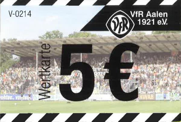 Wertkarte 5€