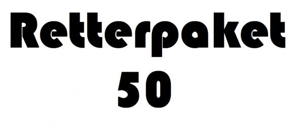 """Retterpaket """"50"""""""